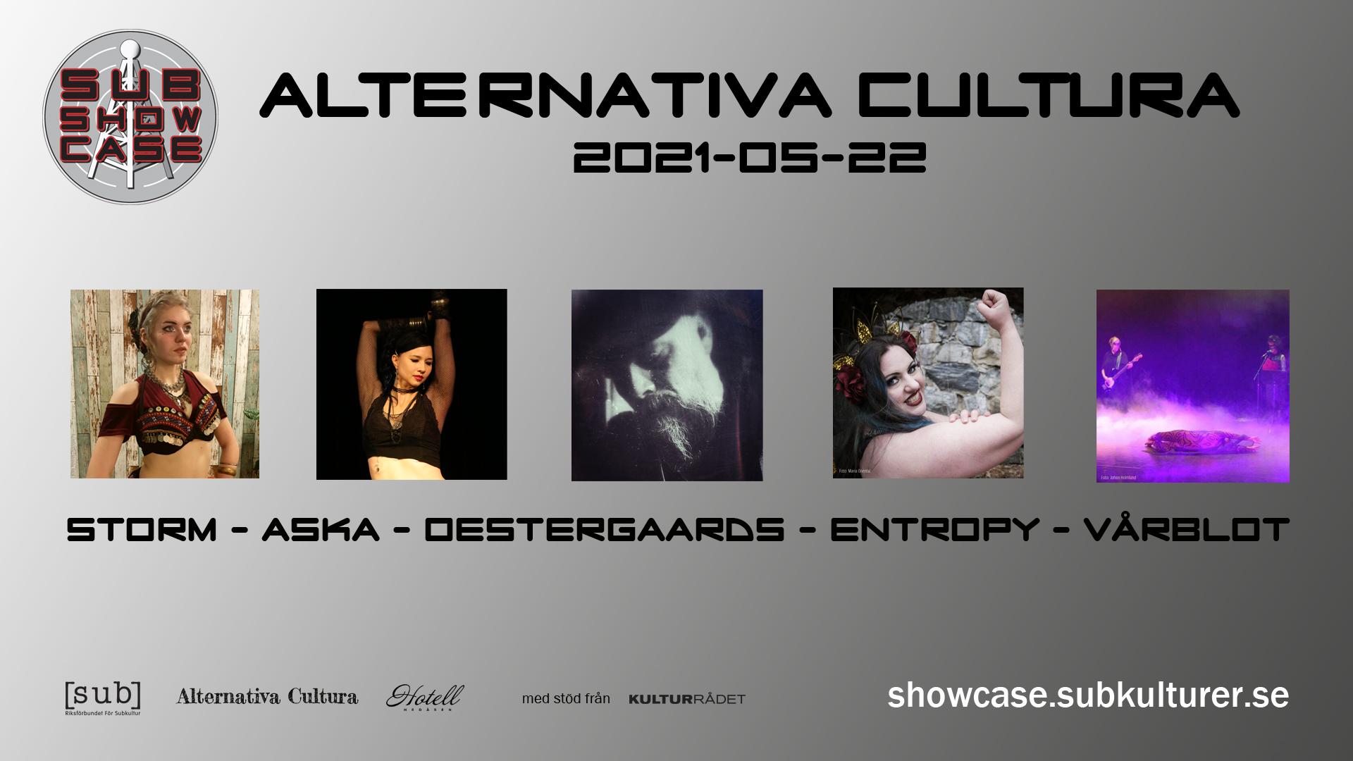 2021-05-22 Live från Alternativa Cultura