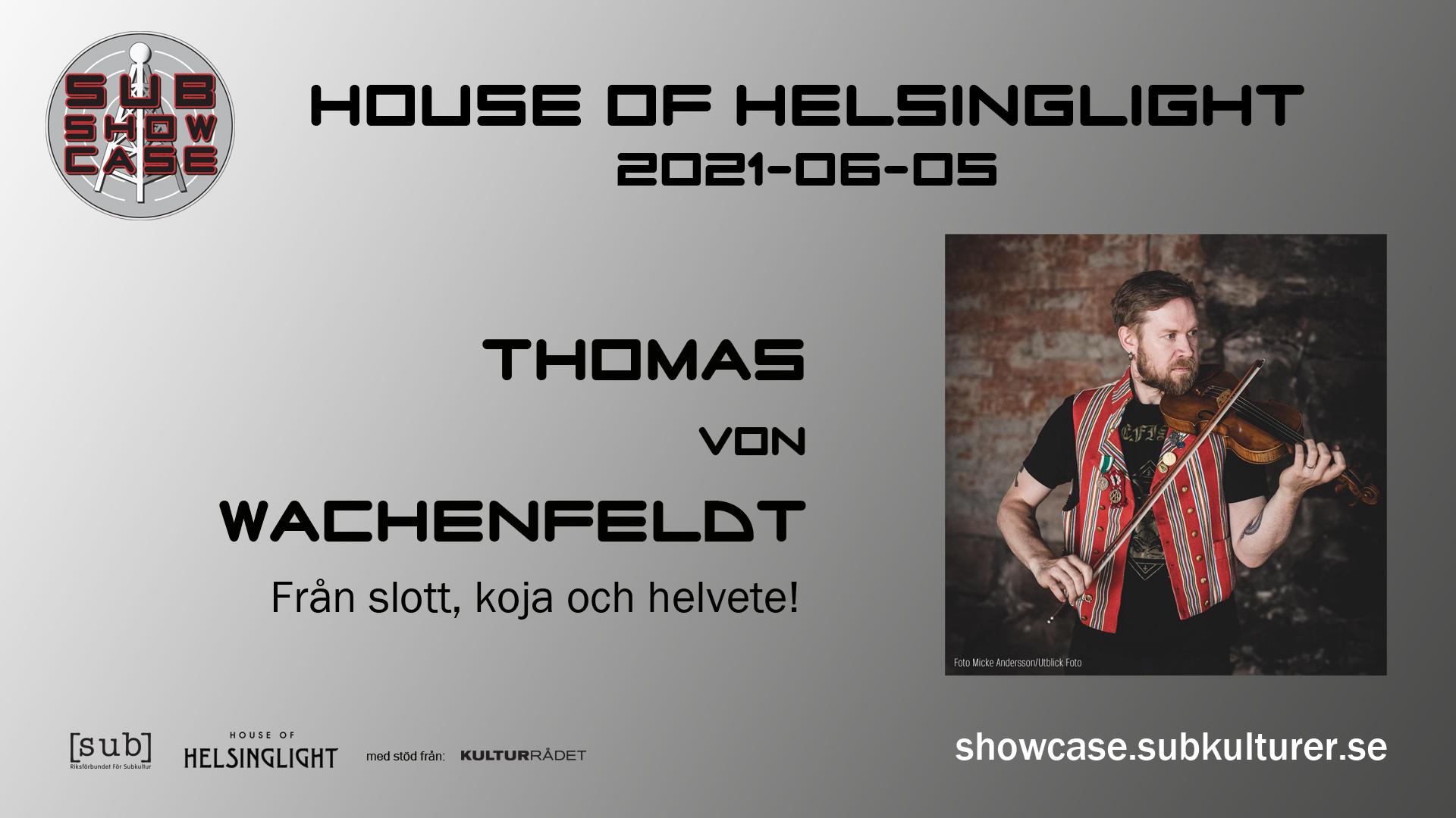 2021-06-05 Live från House of Helsinglight