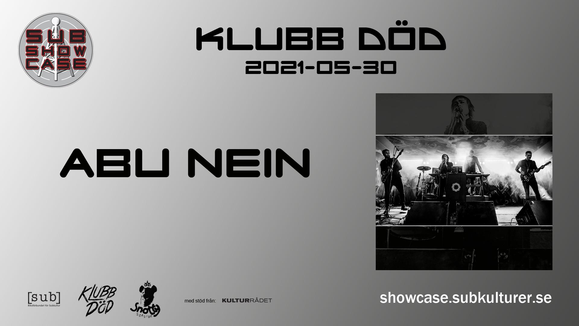 2021-05-30 Live från Klubb Död